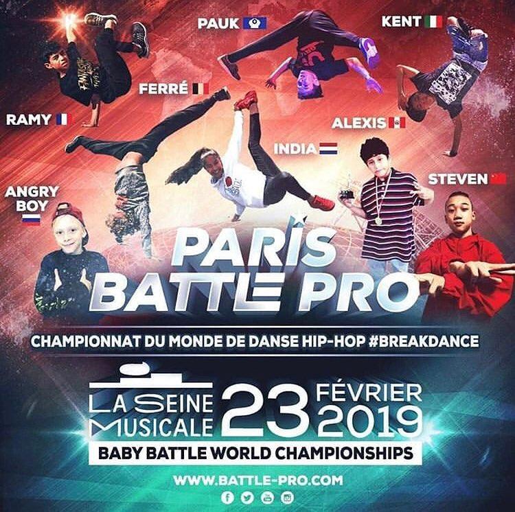 B-Girl India naar Battle Pro in Parijs